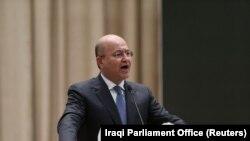 برهم صالح، رئيسجمهور عراق از برگزاری انتخابات زودهنگام و تغییر قانون انتخابات این کشور حمایت کرده است