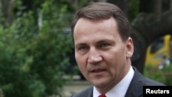 Полскиот министер за надворешни работи Радослав Сикорски.