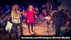 Виступ «Сестер Тельнюк» на церемонії нагородження «Кальміюс-2016»