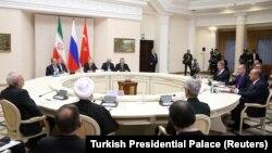 Noyabrın 22-də Soçidə üçtərəfli Rusiya-İran-Türkiyə görüşü keçirilib