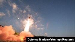 ارتش کره جنوبی گفته است که تمرینات موشکی این کشور «هشداری جدی» به پیونگ یانگ است.