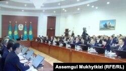 Нур-Султан, расширенное заседание правительства. 24 января 2020 года.