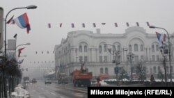Obilježavanje 9. januara je jedna šarada: Dragan Bursać, kolumnista (na slici: kičenje na ulicama Banjaluke povodom praznika Dana RS-a)