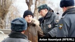 """Сергей Рыжов на """"Русском марше"""" 2013 года"""