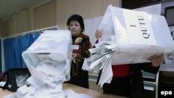 شمارش آرا در انتخابات پارلمانی جمهوری آذربایجان، ۷ نوامبر ۲۰۱۰
