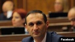 Депутат фракции «Просвещенная Армения» Армен Егиазарян