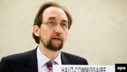 Верховний комісар ООН із питань прав людини Зейд Раад аль-Хусейн