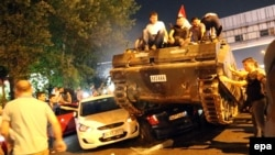Попытка государственного переворота в Турции