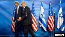 Benjamin Netanyahu və John Kerry
