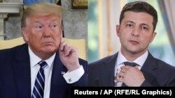 Президенти США і України – Дональд Трамп і Володимир Зеленський