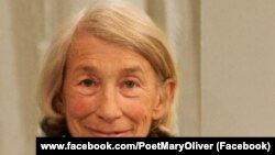 Amerikan şairəsi Mary Oliver.