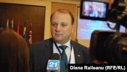 Ministrul Vasile Bumacov la conferința de la Chișinău