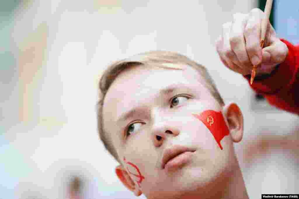 XXI Всемирный фестиваль молодежи и студентов в Сочи, октябрь 2017 года.