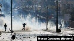Պաղեստինցի ցուցարարների և իսրայելցի զինծառայողների բախումները Բեթղեհեմում, 7-ը դեկտեմբերի, 2017թ․