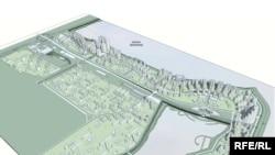 Проект ідеального міста від Інституту цивільного планування (Україна)