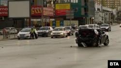 """Колата на Милен Цветков беше блъсната с висока скорост отзад на 19 април пред мол """"Парадайз"""" в София"""