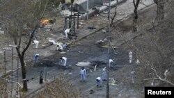 بمبگذاری در آنکارا. ۱۴ مارس ۲۰۱۶