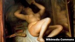 Антуан-Жозэф Вірц, карціна «Чытачка раманаў» (1853)