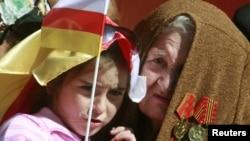 Сегодня в Южной Осетии впервые отметили праздник одного из главных символов республики – День государственного флага