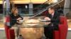 Iolanda Bădiliță în dialog cu europarlamentarul britanic Graham Watson.