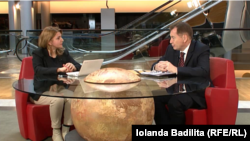 Europarlamentarul Graham Watson intervievat de Iolanda Bădiliță la Strasbourg