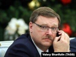 Konstantin Kosaciov, membru al Consiliului Federației