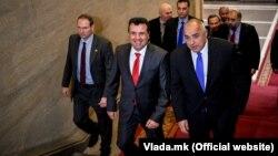 Македонскиот премиер Зоран Заев и неговиот бугарски колега Бојко Борисов, архивска фотографија