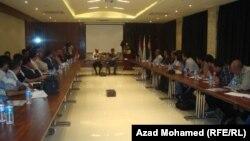 هيئة الإستثمار في السليمانية في مؤتمر صحفي