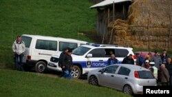 Policija na mestu tragedije u selu Ivanča