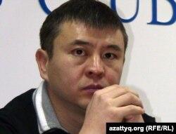 Мухтар Тайжан, активист партии «Руханият». Алматы, 23 декабря 2011 года.