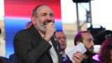 Armenia -- A rally on the occasion of the RA Prime Minister Nikol Pashinyan's 100th days in office, Yerevan, 17Aug2018