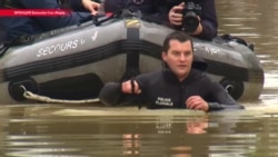 Наводнение в Париже: семь станций метро закрыли