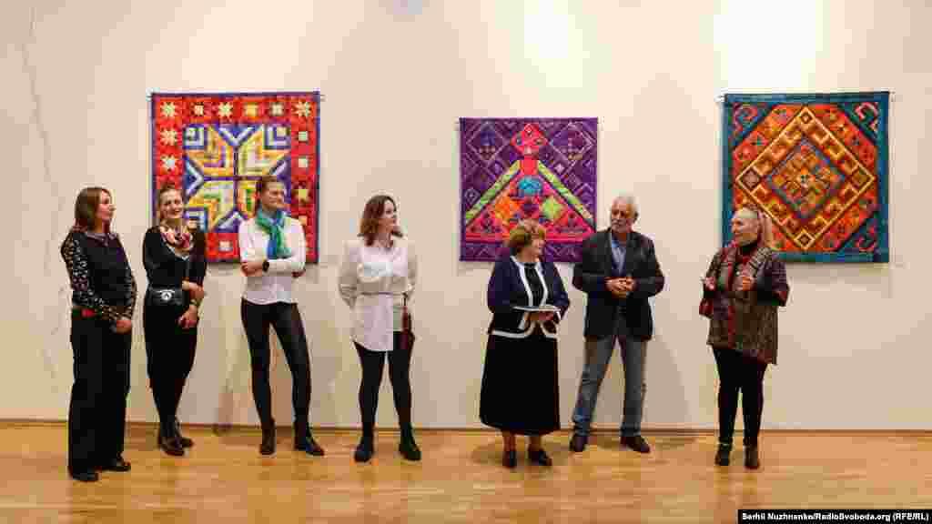 Під час відкриття виставки