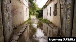 Симферополь после дождя, 17 июня 2021 года
