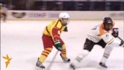 Хоккей: Бишкектеги эл аралык мелдеш