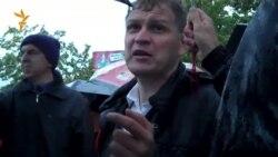 Ульяновск. Митинг против застройки парка
