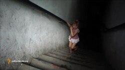 Підвал став прихистком для жителів Донецька