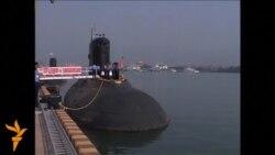 В Індії затонув збудований у Росії підводний човен