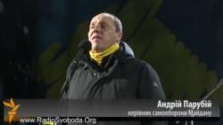 Самаабарона Майдану ўзяла пад кантроль урадавы квартал