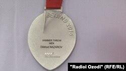 Нишони нуқраи Дилшод Назаров