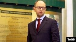 Украинскиот премиер Арсениј Јаценјук.