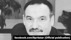 Рөстәм Фәйзуллин (1951-2020) (Татарстан язучылар берлеге фотосы)