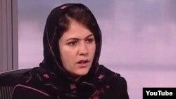 Депутат афганского парламента Фаузия Куфи