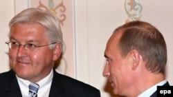 На встрече со Штайнмайером Путин поблагодарил Бога за отсутствие конфликтов между Россией и ЕС