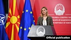 Министерката за финансии Нина Ангеловска.