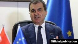 Türkiyənin Avropa işləri naziri Ömer Çelik