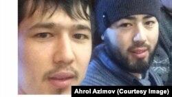 Аброр жана Акрам Азимов.