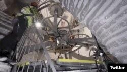 10 000 жылдык сааттын шайман-тетиктери. Jeff Bezos/Twitter