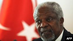 Претставникот на ОН и Арпаската лига за Сирија Кофи Анан