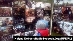 До Дня добровольця в Івано-Франківську розгорнули фотовиставки про бійців Української добровольчої армії